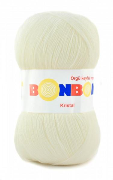 Poze Fir de tricotat sau crosetat - Fire tip mohair din acril BONBON KRISTAL 98594