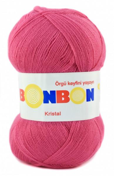 Poze Fir de tricotat sau crosetat - Fire tip mohair din acril BONBON KRISTAL 98319