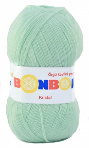 Poze Fir de tricotat sau crosetat - Fire tip mohair din acril BONBON KRISTAL VERNIL 98329