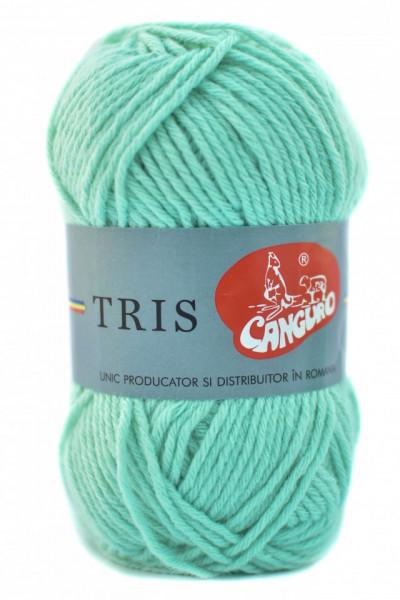 Poze Fir de tricotat sau crosetat - Fire tip mohair din acril CANGURO - TRIS BLEO 386