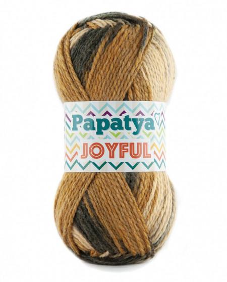 Poze Fir de tricotat sau crosetat - Fire tip mohair din acril Kamgarn Papatya Joyful degrade 20