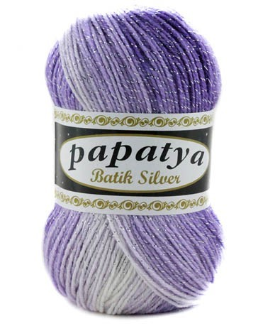 Poze Fir de tricotat sau crosetat - Fire tip mohair din acril Kamgarn Papatya Silver Batik degrade 08