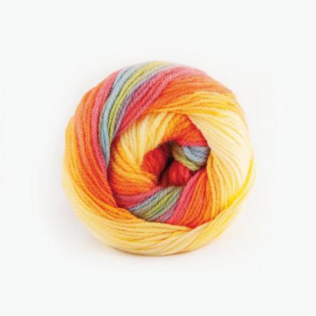 Poze Fir de tricotat sau crosetat - Fire tip mohair din acril Kamgarn Papatya Batik degrade 15