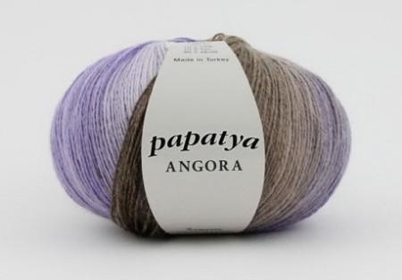 Poze Fir de tricotat sau crosetat - Fire tip mohair din acril Kamgarn Papatya Angora degrade 23