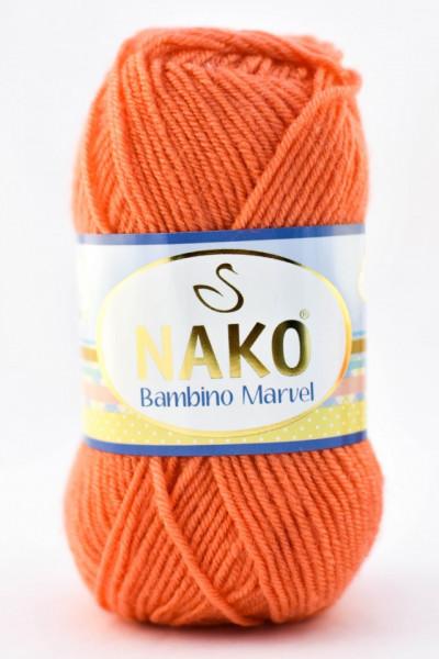 Poze Fir de tricotat sau crosetat - Fire tip mohair din acril Nako Baby MARVEL FREZ 3278