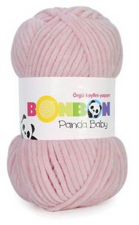 Poze Fir de tricotat sau crosetat - Fire tip mohair din acril NAKO BONBON PANDA BABY ROZ 3085
