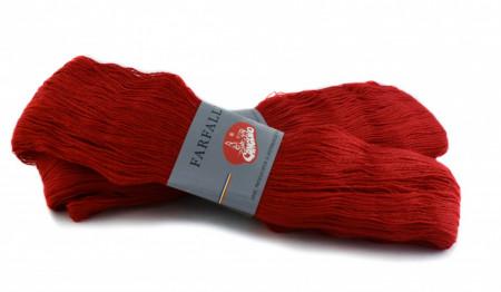 Poze Fir de tricotat sau crosetat - Fire tip mohair din acril (PNA)Canguro Farfalle ROSU 309