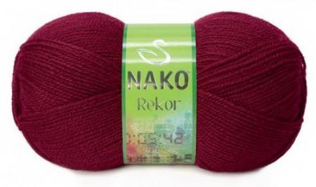 Poze Fir de tricotat sau crosetat - Fire tip mohair din acril premium Nako REKOR GRENA 3630
