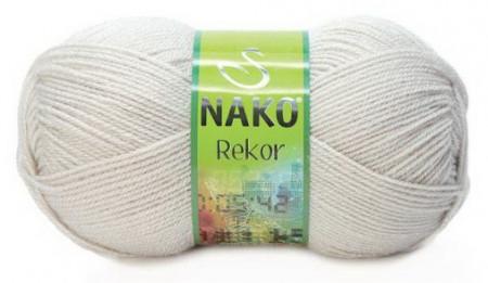 Poze Fir de tricotat sau crosetat - Fire tip mohair din acril premium Nako REKOR GRI 6383