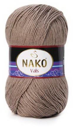 Poze Fir de tricotat sau crosetat - Fire tip mohair din acril premium Nako VALS GRI 2000