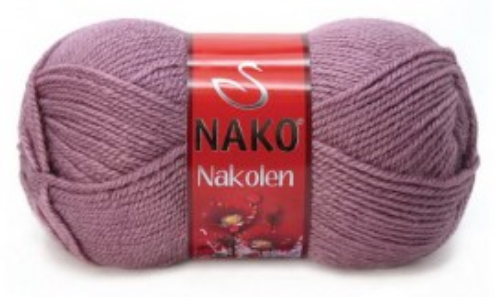 Poze Fir de tricotat sau crosetat - Fire tip mohair din lana 50% si acril 50% Nakolen MOV 569