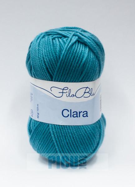 Poze Fir de tricotat sau crosetat - Fire tip mohair din poliester Filo Blu - Clara 06