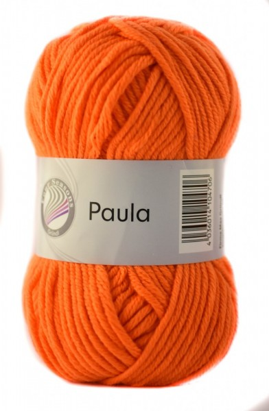 Poze Fir de tricotat sau crosetat - PAULA UNI by GRUNDL PORTOCALIU - 16 (FLUO)