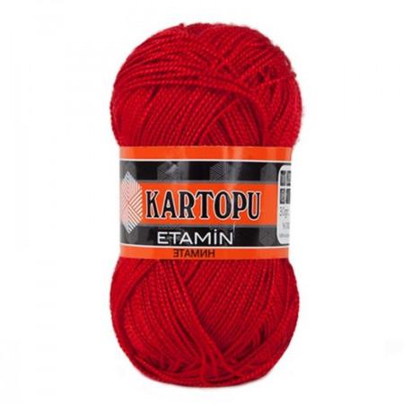 Poze Fir de tricotat,brodat sau crosetat - Fir KARTOPU ETAMIN ROSU 150