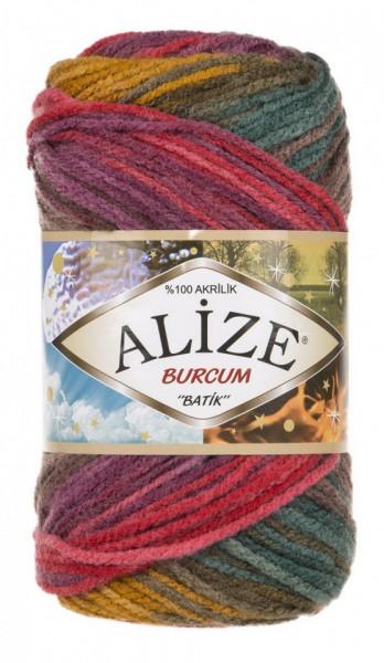 Poze Fir de tricotat sau crosetat - Fir ACRILIC ALIZE BURCUM BATIK DEGRADE 3368