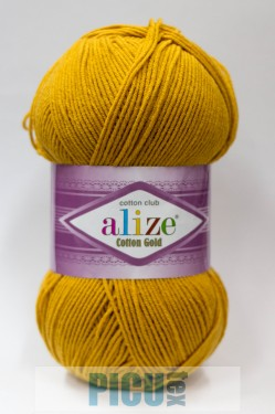 Poze Fir de tricotat sau crosetat - Fir ALIZE COTTON GOLD MUSTAR  02