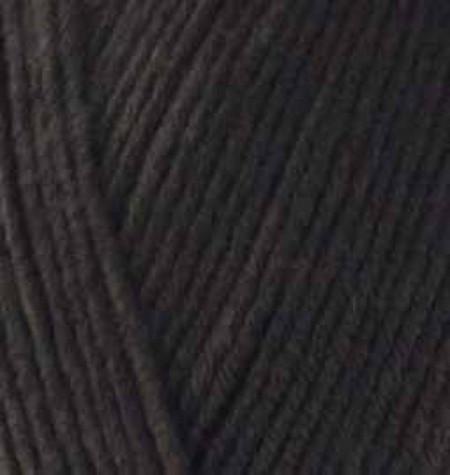 Poze Fir de tricotat sau crosetat - Fir ALIZE COTTON GOLD NEGRU 60