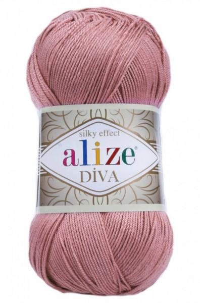 Poze Fir de tricotat sau crosetat - Fir microfibra ALIZE DIVA ROZ 354