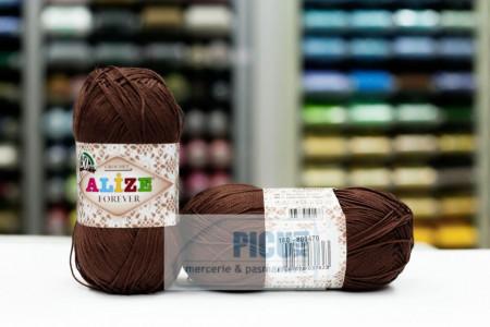 Poze Fir de tricotat sau crosetat - Fir microfibra ALIZE FOREVER MARO 150