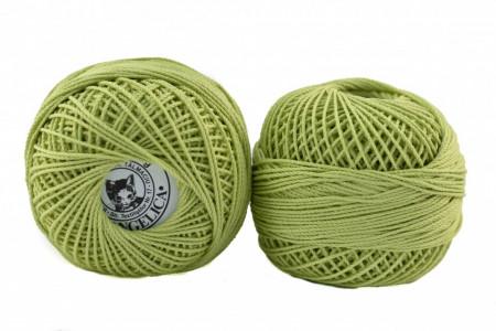 Poze Fir de tricotat sau crosetat - Fire Bumbac 100% ANGELICA ROMANOFIR BOBINA VERNIL 1262