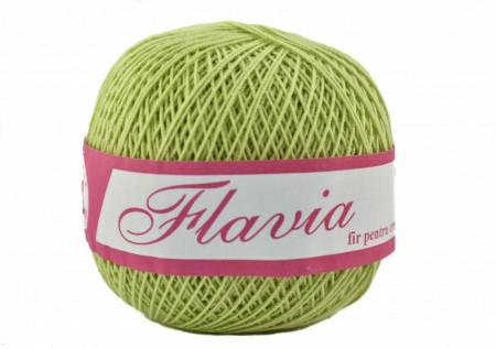 Poze Fir de tricotat sau crosetat - Fire Bumbac 100% FLAVIA ROMANOFIR BOBINA VERDE 1262
