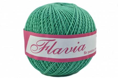 Poze Fir de tricotat sau crosetat - Fire Bumbac 100% FLAVIA ROMANOFIR BOBINA VERDE 1249
