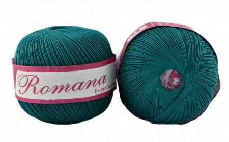 Poze Fir de tricotat sau crosetat - Fire Bumbac 100% ROMANA - ROMANOFIR BOBINA 1246