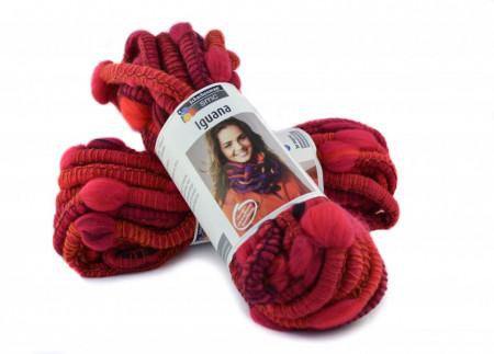 Poze Fir de tricotat sau crosetat - Fire pretricotat esarfa COATS - IGUANA- DEGRADE 82