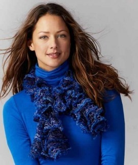 Poze Fir de tricotat sau crosetat - Fire pretricotate esarfa Argentina Color degrade AC83