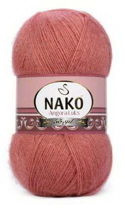 Poze Fir de tricotat sau crosetat - Fire tip mohair acril NAKO ANGORA LUKS FREZ 2574