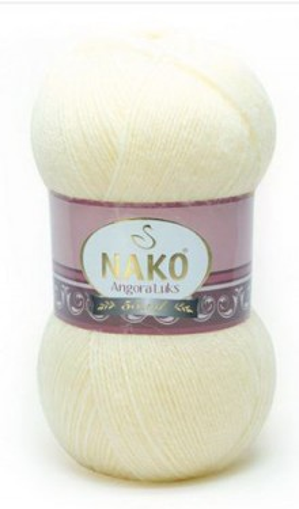 Poze Fir de tricotat sau crosetat - Fire tip mohair acril NAKO ANGORA LUKS CREAM 256