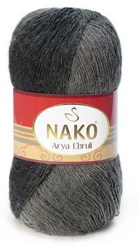 Poze Fir de tricotat sau crosetat - Fire tip mohair acril NAKO ARYA EBRULI DEGRADE 86398