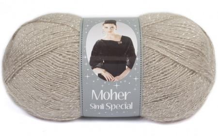 Poze Fir de tricotat sau crosetat - Fire tip mohair acril NAKO MOHER SIMLI SPECIAL BEJ 1199G