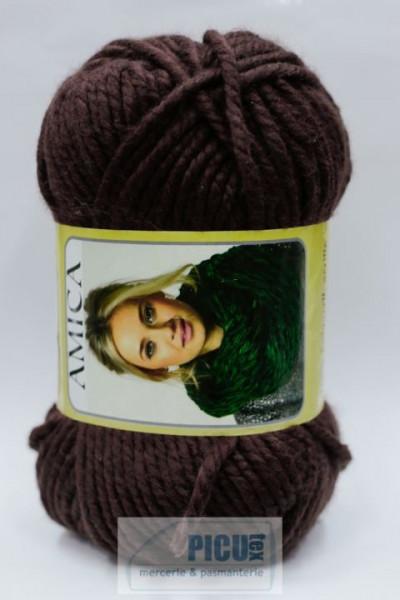 Poze Fir de tricotat sau crosetat - Fire tip mohair din acril AMICA MARO - 329