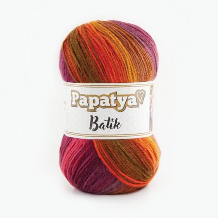 Poze Fir de tricotat sau crosetat - Fire tip mohair din acril Kamgarn Papatya Batik degrade 29