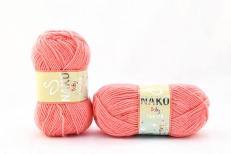 Poze Fir de tricotat sau crosetat - Fire tip mohair din acril Nako Baby MARVEL ROZ 260
