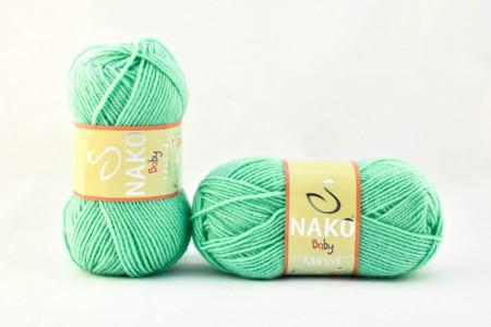 Poze Fir de tricotat sau crosetat - Fire tip mohair din acril Nako Baby MARVEL VERNIL 2867