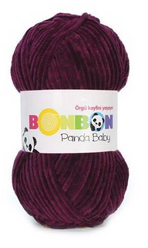 Poze Fir de tricotat sau crosetat - Fire tip mohair din acril NAKO BONBON PANDA BABY GRENA 3098