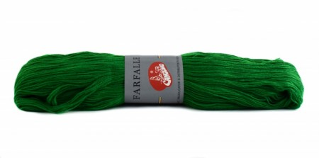 Poze Fir de tricotat sau crosetat - Fire tip mohair din acril (PNA) Canguro Farfalle VERDE 326