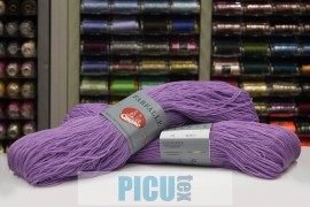 Poze Fir de tricotat sau crosetat - Fire tip mohair din acril (PNA) Canguro Farfalle MOV 333