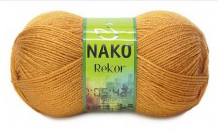 Poze Fir de tricotat sau crosetat - Fire tip mohair din acril premium Nako REKOR BEJ 10129