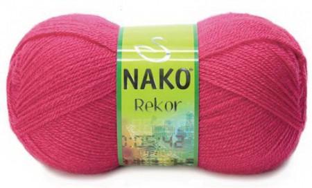 Poze Fir de tricotat sau crosetat - Fire tip mohair din acril premium Nako REKOR ROZ 10116