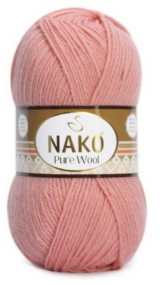 Poze Fir de tricotat sau crosetat - Fire tip mohair din lana 100% Nako PURE WOOL 11948