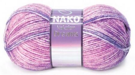 Poze Fir de tricotat sau crosetat - Fire tip mohair din lana 49% si acril 51% Nakolen DREAMS degrade 31561