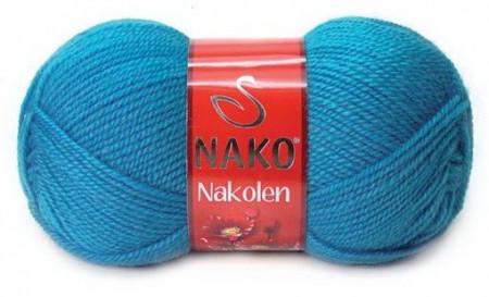 Poze Fir de tricotat sau crosetat - Fire tip mohair din lana 50% si acril 50% Nakolen BLEO 5052