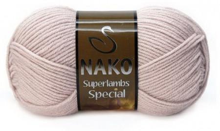 Poze Fir de tricotat sau crosetat - Fire tip mohair din lana 50% si acril 50% Nako Superlambs Special gri 3079
