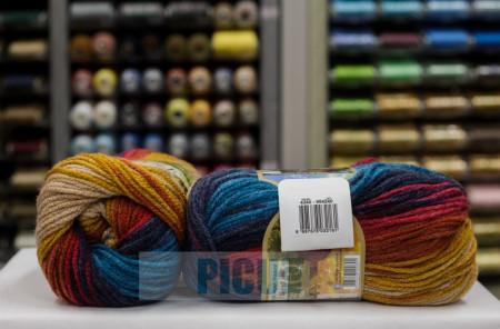 Poze Fir de tricotat sau crosetat - Fir ACRILIC ALIZE BURCUM BATIK DEGRADE 4340