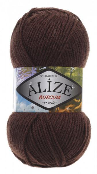 Poze Fir de tricotat sau crosetat - Fir ACRILIC ALIZE BURCUM KLASIK MARO 493