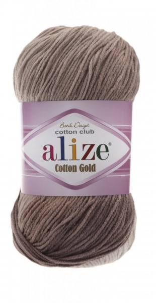 Poze Fir de tricotat sau crosetat - Fir ALIZE COTTON GOLD BATIK - DEGRADE 1815