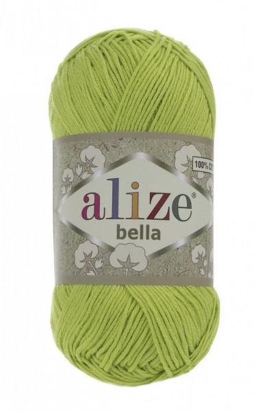 Poze Fir de tricotat sau crosetat - Fir BUMBAC 100% ALIZE BELLA - VERNIL 612